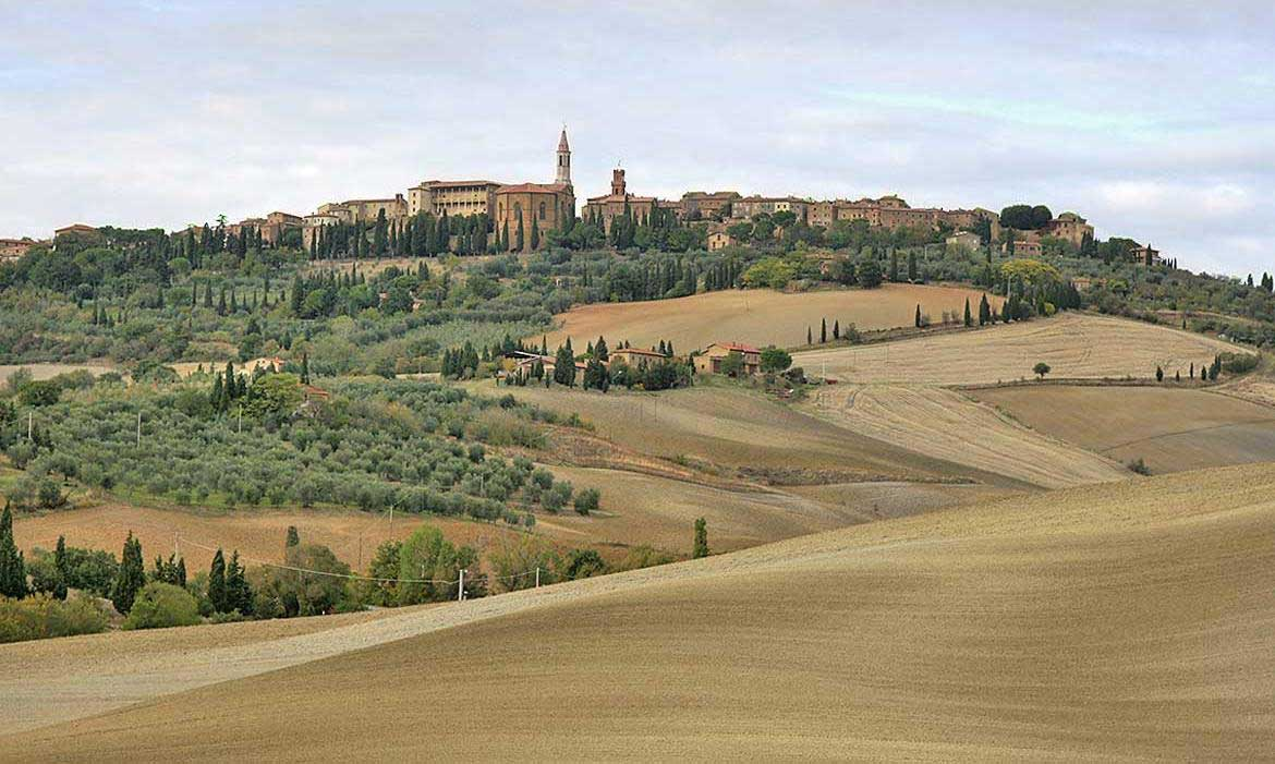 Pienza is near Il Pozzo, a luxury villa in Tuscany